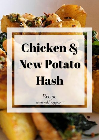 Chicken and New Potato Has Recipe | This is our adaptation of one of the recipes in the Lean in 15 books by the body coach. It is so simple and quick to make for a mid week family meal https://oddhogg.com