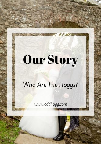 Our Story | How did JHogg and I meet? When did we decide to have our first baby baby? Answers to those and more in this post www.oddhogg.com