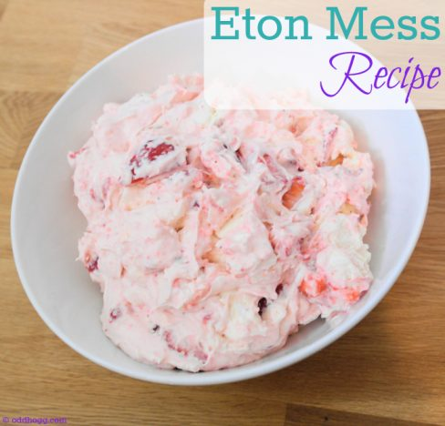 Eton Mess is our favourite summer dessert. It is quick and easy to make, simple to do with kids and takes no time at all https://oddhogg.com