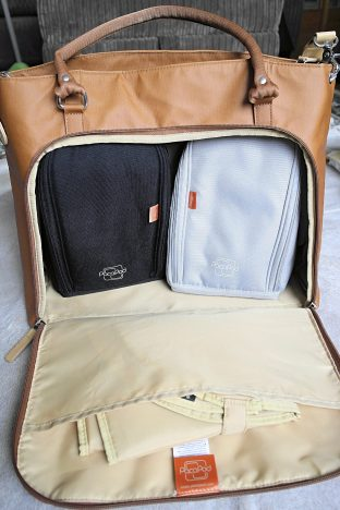 Changing Bag PacaPod mirano pods