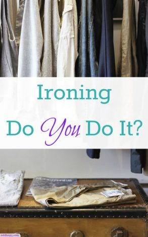 Do you iron your clothes? I've tried cutting back on my ironing because as a new mum I'm running out of time - but I just don't like the look of unironed clothes. I'm looking for some tips on what I can do - leave them in the comments https://oddhogg.com/ironing/