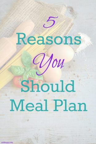 Do you meal plan? Here are my top 5 common sense reasons why I menu plan. Its perfect for busy mums and dads, or for those with fussy eaters. Check out the post at https://oddhogg.com/meal-plan