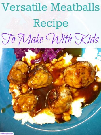 A versatile meatball recipe that you can even make with your kids. Perfect for children to get their hands dirty in the kitchen. Quick and easy, these meatballs are freezer friendly which is ideal for those of us with a busy life style. Soft and tender - these can't be missed! http://oddhogg.com/homemade-meatballs/