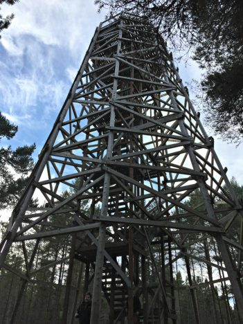 Landmark In The Winter Months | Fire Tower https://oddhogg.com
