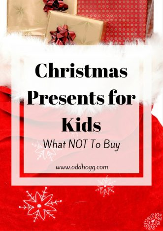 Best of the Worst - The Christmas Present NOT To Buy | Have you ever wondered whether the present you have bought a child was really appreciated? Did you questions whether it was suitable? Annoying? Terrifying? I've got the answers! https://oddhogg.com