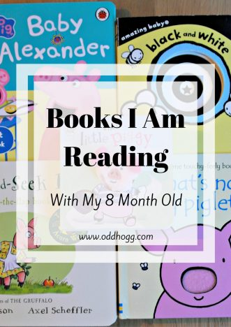 Books I Am Reading With My 8 Month Old | Reading with your baby is really important and a great way to bond. We love some mummy son time with a story!