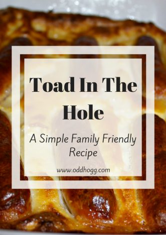 Toad In The Hole Recipe | A simple family friendly recipe. Perfect for a mid week meal - my favourite way to have sausages!
