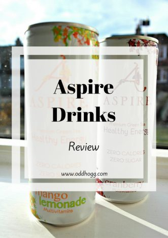 Aspire Drinks Review | Aspire offer premium green tea in their zero calories zero sugar lightly carbonated drinks. Have a read to see what I thought of them and their claims https://oddhogg.com