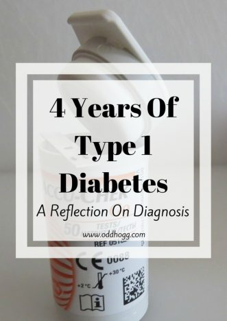 4 Years of Type 1 Diabetes | it has been 4 years since I was diagnosed with type 1 diabetes. A lot has changed in that time as I transitioned from multiple daily injections to using an insulin pump. It's been an experience! http://oddhogg.com