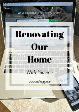 Renovating Our Home With Bidvine