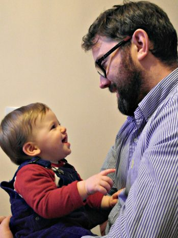 To Piglet, On Your 1st Birthday | With Daddy http://oddhogg.com