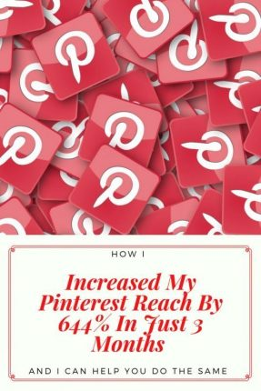 How To Increase Your Pinterest Reach | The best way to drive traffic to your website is through Pinterest. I am sharing how I do it in just 4 easy steps so that you can improve your reach too. Boost your page views overnight and make your website work for you www.oddhogg.com