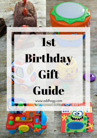 1st Birthday Gift Guide   Looking for present ideas for a first birthday? Here are 8 gifts that we have loved http://oddhogg.com