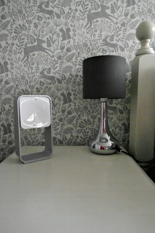 A Good Night's Sleep With S+ By ResMed | On the bedside table http://oddhogg.com