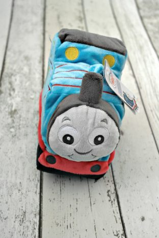 My First Thomas Comforter and Toy Review | Thomas Plush Toy https://oddhogg.com