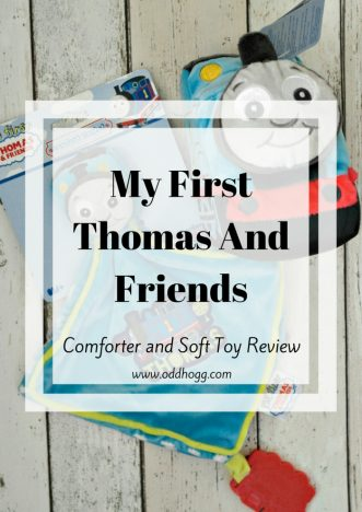 My First Thomas Comforter and Toy Review | We have been trying the new range of thomas the tank engine toys available in Tesco https://oddhogg.com