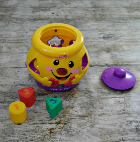 1st Birthday Gift Guide | Fisher-Price Cokkie Jar https://oddhogg.com