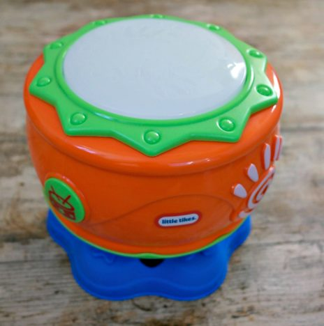 1st Birthday Gift Guide | Little Tikes Spin n Hit Drum https://oddhogg.com