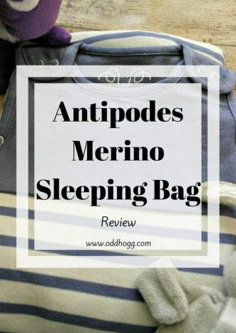 Antipodes Merino Review | We have been trying out a lovely wool and organic cotton baby sleeping bag. Perfect from newborn to toddler http://oddhogg.com
