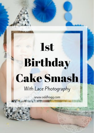 1st Birthday Cake Smash | We celebrated our baby's first birthday in the best way we knew how - with cake! It was a perfect way to capture his personality at this age, and our photographer did and excellent job https://oddhogg.com