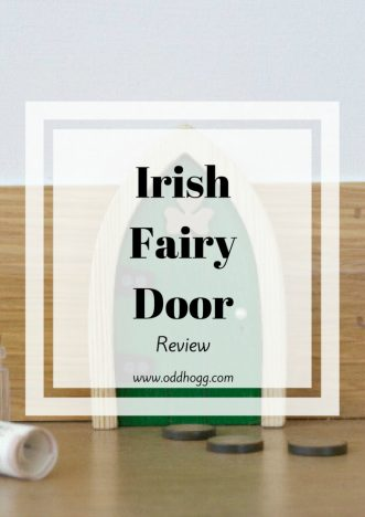 Irish Fair Door Review | Are you ready to open your home up to a fairy? We have installed an Irish fairy door, and have our own troll move in instead! A fun activity for preschoolers, a fairy door supports imaginary play http://oddhogg.com
