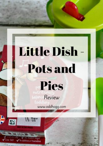 Little Dish Pots and Pies Review | We have been testing out Little Dish ready meals for toddlers. A quick and easy idea for those nights when you don't have time to do a homemade dinner https://oddhogg.com