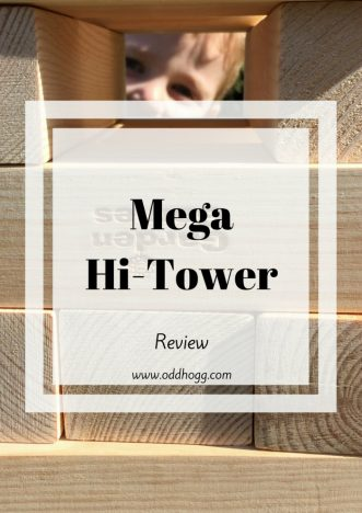 Mega Hi-Tower Review | We have been trying out a giant Jenga outdoor game. It was great fun for the whole family and everyone could take part https://oddhogg.com