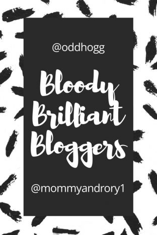 Bloody Brilliant Bloggers - May | This is a new tag to give credit to some of the bloggers out there! https://oddhogg.com