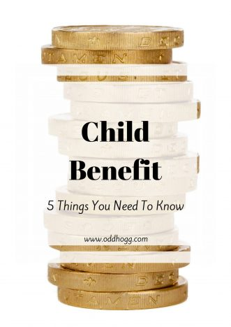 Child Benefit - 5 Things You Need To Know | The benefits system can be really confusing. I have pulled out the 5 main things you need to know about child benefit for new parents to make things a little easier https://oddhogg.com