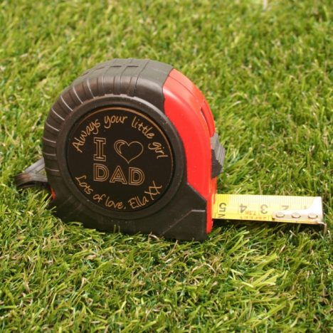 5 Personalised Fathers Day Gifts With Gifts4U | Personalised Tape Measure https://oddhogg.com
