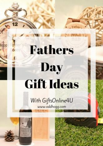 5 Personalised Fathers Day Gifts With Gifts4U | Struggling with what to get your Dad this year? I've got a list of 5 great personalised gifts to suit any man https://oddhogg.com