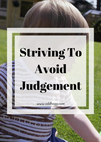 Striving To Avoid Judgement | Is there something you do that makes you feel better? As a mum I don't often have time to look after myself, so I have a couple of tricks that make me feel confident https://oddhogg.com