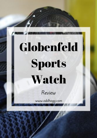 Globenfeld Men's Chronograph Sports Watch Review | We have been testing out this watch. We think it makes a great gift option for a dad or boyfriend - maybe your brother even! https://oddhogg.com