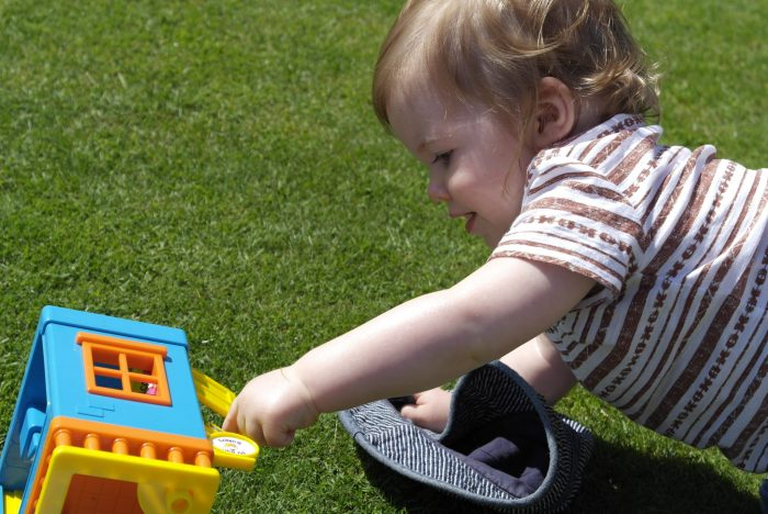 So You've Got A Toddler   Playing in The Garden https://oddhogg.com