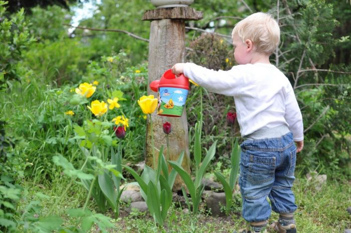 4 Reasons Why Gardening Is Good For Kids | child gardening https://oddhogg.com