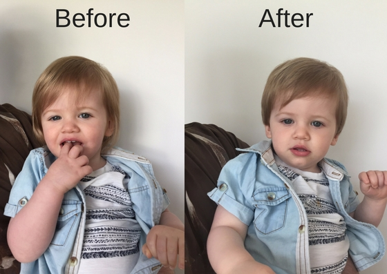 Piglet's First Hair Cut | Before and After Toddler Haircut https://oddhogg.com