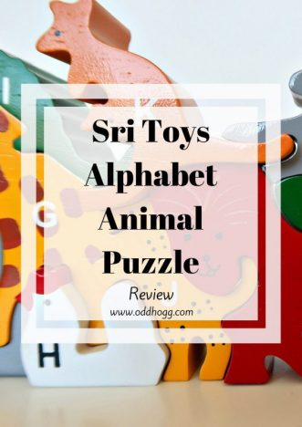 Sri Toys Alphabet Animal Puzzle Review | We have been trying out an educational puzzle toy. Bright and vibrant, the wooden toy was quite a hit with my toddler https://oddhogg.com