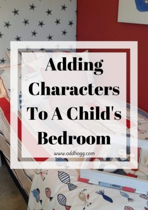 Adding Characters To A Child's Bedroom | Do you want to add a few of their favourite characters, without making it a totally themed room? I have a few suggestions for you https://oddhogg.com