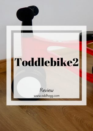 Toddlebike2 | We have been giving the toddlebike a try! Designed for toddlers to introduce them to riding a bike, this seemed like the perfect beginner rider. Will this be on your child's christmas list? https://oddhogg.com