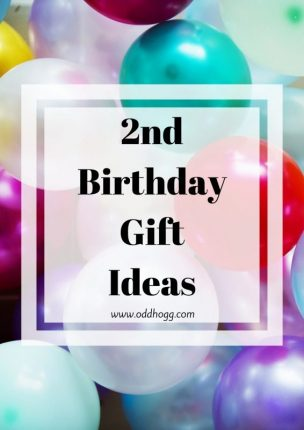 2nd Birthday Gift Ideas | Looking for something to by a two year old? It can be tough to choose a present, so I have a few ideas of things they may like https://oddhogg.com