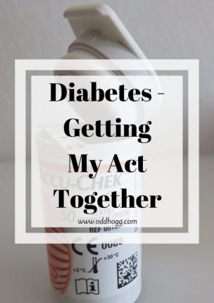 Diabetes - Getting My Act Together |  I have set myself some tasks to help control my type 1 diabetes a bit better in this pregnancy https://oddhogg.com