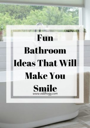 Fun Bathroom Ideas That Will Make You Smile https://oddhogg.com