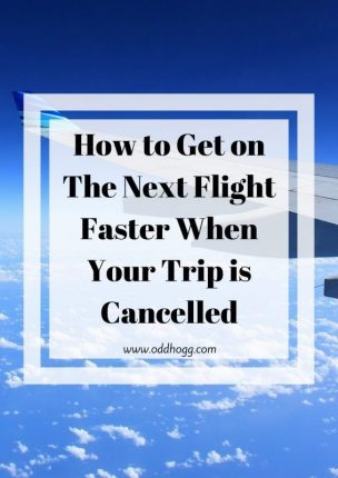 How to Get on The Next Flight Faster When Your Trip is Cancelled https://oddhogg.com