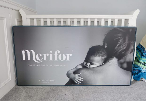 Merifor Serenity Cot Bed Mattress Review | In the box https://oddhogg.com