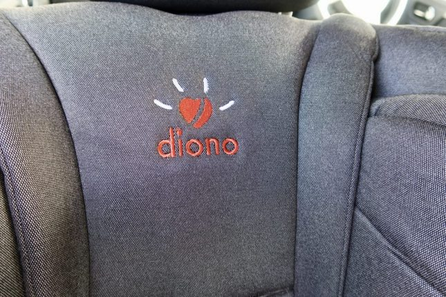 Diono Radian 5 Extended Rear Facing Car Seat Review | Diono Logo https://oddhogg.com