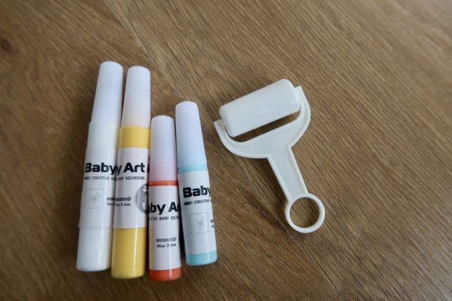 Baby Art Family Touch Review | Paint Colours And Roller https://oddhogg.com