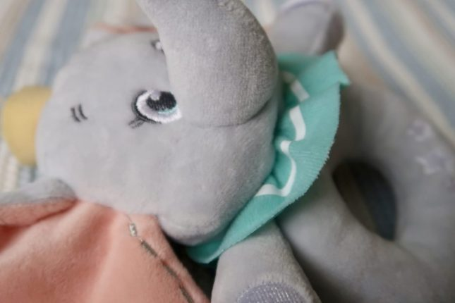 Disney Baby Patch Comfort Blanket & Dumbo Rattle Review | https://oddhogg.com