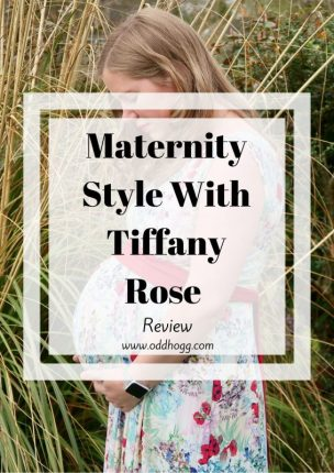 Maternity Style With Tiffany Rose | In the 3rd trimester it can be hard to find something to wear to flatter your bump and make you feel good. I have tried out a dress from Tiffany Rose to wear for a wedding at 34 weeks pregnant https://oddhogg.com