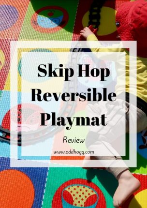 Skip Hop Reversible Playmat Review| We have been trying out this mat both in the house and in the garden. Perfect for kids - we've really enjoyed using it! https://oddhogg.com