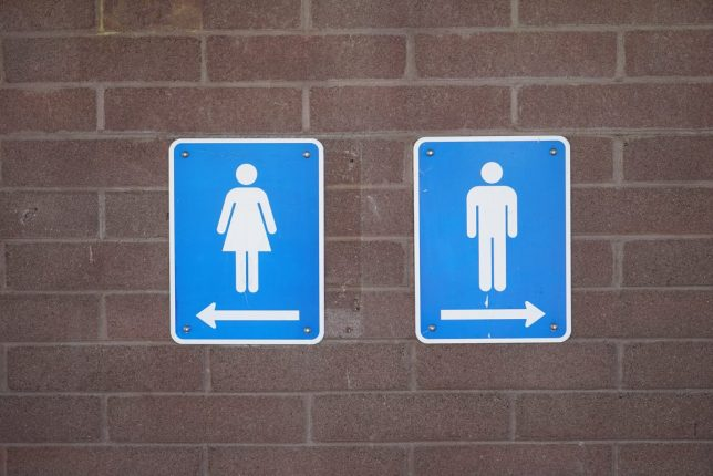 Should Men Only Have Restricted Access To Maternity Wards? | Bathroom signs https://oddhogg.com